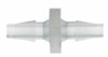 Barbed fittings, Straight Connector, Clear PP,1/16