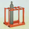 Eight Capacity Cylinder Pallet Rack -- 79027 - Image