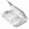 Barbed fittings, Metric fittings kit, Clear PP, 96 pieces -- GO-06286-00 - Image