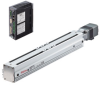 Linear Actuator (Slide) - Straight Type, Y-axis Table with Built-in Controller (Stored Data) -- EAS4Y-D025-ARMAD-3 -Image