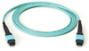 MTP® OM3 Trunk Cable - 24-Strand, Cross-Pinning, Plenum, 1-m (3.2-ft) -- FOTC15M3-MP-24AQ-1 - Image