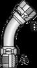 S5 – JIC Male x JIC Female Swivel 45º Tube Bend -Image