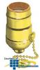 Leviton Single Circuit Pull Chain Metal Lampholder 660W.. -- 19980-PG