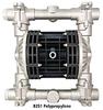 Air Operated Diaphragm Pump -- Model B251