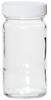 APC1120 - Environmental Express Glass Bottles, Level 1, Tall Jar, Clear, 125 mL; 12/Cs -- GO-35204-15