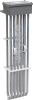 Fluoropolymer 3 Phase Over the Side Heater -- 6HX Style -- View Larger Image