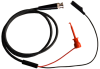 Male BNC Coaxial Test Cable RG58C/U to XR Mini-Hook and Alligator Clip -- 1021XR -Image