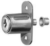 Sliding Door Lock, Nickel,Key C415A -- 5ELC2