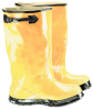 Onguard Rubber Slicker 88070 Yellow 10 Chemical-Resistant Overboots - 17 in Height - Rubber Upper and Rubber Sole - 791079-14494 -- 791079-14494