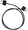 Stacking Double Banana Plug Test Cable, RG58C/U -- 1056 -Image
