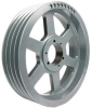 V-Belt Pulley,QD,20.4 In OD,4 Groove -- 5YKD5