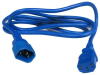3ft IEC C14 to C13 Power Extension Cord 10Amp 250V 18/3 AWG SJT -- P7ME250-03