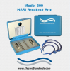 HSSI (SCSI-2) Interface Breakout Box -- Model 800 -- View Larger Image