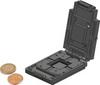 Test & Burn-In Socket, GU78 Frame / BGA pkg, Size 78x116.7mm / 3.07