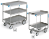 LAKESIDE Heavy-Duty Stainless Steel Carts -- 5496901