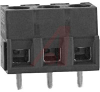 Screw Connector; 0.197 in.; 3; 30 to 14AWG; 300 V; 2500 V; 1.5; 1.2 mm; 6 mm -- 70212441