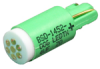 AML92 Series Quad Chip Green LED, 15 mA, 8.6 Volts -- AML92EGY - Image