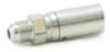 Industrial Hydraulic Crimp Fitting – 55 Series Male SAE 45D Rigid -- 10455-8-8