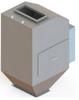 Heavy Duty Mass Flow Meter, Powder Orientation -- HDM CentriFlow® Type II
