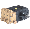 Triplex Plunger Pump with Gear Reducer - Solid Shaft -- T9971GR -Image