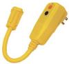 GFCI Plug,15A,5-15R,9 In,Auto Reset -- 11X425