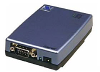 iServer Serial to Ethernet Converter, DIN rail case with RS-232 serial port (DB9) -- EIT-D - Image