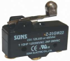 Snap Action Switch, Short Hinge Roller -- 5JEF3 - Image