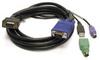 Linkskey 10ft Slim 3-in-1 High-Quality USB/PS2 KVM Combo Cable M/M -- C-KVM-SC10 - Image