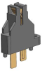Modular Socket for Power Semiconductor Package, For Power Transistor, For SIP Package, For Intelliget Power Module(IPM) -- PMS-1778P-S -- View Larger Image