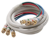 25ft 3 BNC to 3 BNC Component Video Cable -- 254-425IV - Image