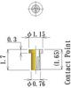 Thru Hole Short type, Round Socket Pin -- NV6P-F115L17-GG -Image
