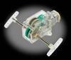 4-Speed Crank Axle Gearbox Clear - Tamiya 89916 -- 0-TAMX8116