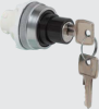 Non Illuminated Selector Switch With Key -- T11GF00 - Image