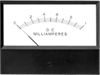 Bezel Mount Analog Panel Meter -- 2100