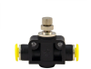 Clippard PQ Flow Controls Series - In-Line (Meter In or Meter Out) -- PQ-FV08 -Image