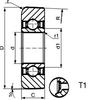 Mast Rollers (Single Row Ball Bearings) -- CZ307022-2RS