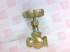 NEEDLE VALVE THREADED TYPE 1/2 NOMINAL DIAMETER -- DH12DR