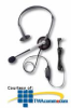AT&T; Over-the-Head Headset with Noise-Canceling Microphone -- H420