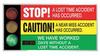 Safety Scoreboard,36 x 72In,AL/PLSTC,ENG -- 6KXW4