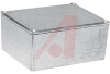 Enclosure;Diecast Aluminum;Natural Finish; 4.68L x 3.68W x 2.21H in -- 70148694