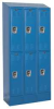 Assembled Locker,W36,D15,H83,Marine Blue -- 2PFT7