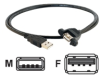 Cables to Go Panel Mount Cable -- 28063