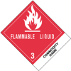 "4in x 4 3/4in ""Compounds, Cleaning Liquid"" Labels -- DL512P1"