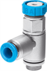 GRLSA-1/8-QS-6 One-way flow control valve -- 540661-Image
