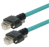 Category 5e GigE Double Shielded High Flex Ethernet Cable, GigE / GigE, 3M -- T5A00016-3M -Image
