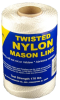 "#18 NYLON MASON LINE 272' WHITE 6"" TUBE -- 10-184R-6 -- View Larger Image"