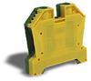 Grounding Terminal Block: 14-4 AWG, green/yellow, 25/pk -- DN-G4