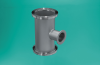 ISO-LF to ISO-QF Reducer Tee