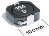 MSS1038T Series High Temperature Power Inductors -- MSS1038T-821 -Image