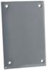 Weatherproof Single Gang Box Mount Cover - Blank -- 5174-0 - Image
